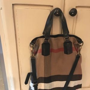 b41bc6fbdc4c Burberry Bags - New Burberry Brit Medium Tottenham Tote